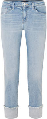 Sadey Mid-rise Slim-leg Jeans - Light denim