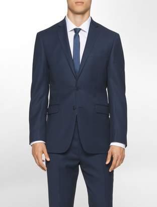 Calvin Klein body slim fit navy suit jacket