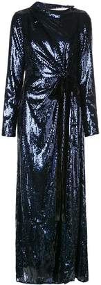 Prabal Gurung embellished long-sleeve maxi dress
