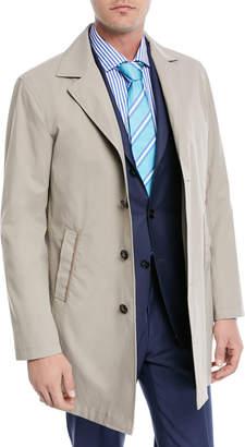 Kiton Silk-Blend Rain Coat