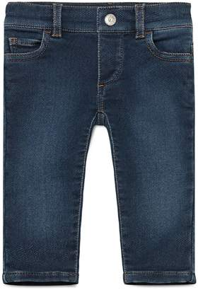Baby denim straight pant $220 thestylecure.com