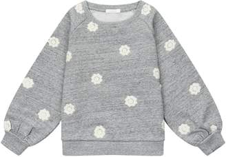 Chloé Embroidered Floral Sweatshirt
