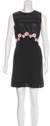 Giambattista Valli Appliqué Sleeveless Dress w/ Tags