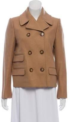 Stella McCartney Camel & Wool-Blend Coat