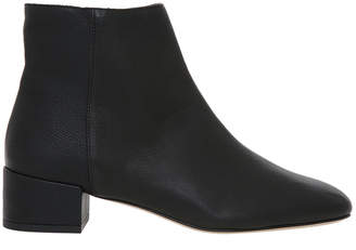 Stevie Black Calf Leather Boot