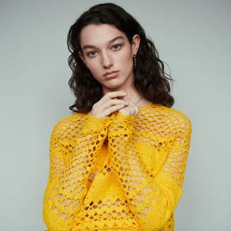 Maje Oversized crochet sweater