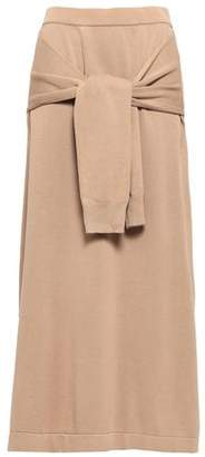 Joseph Tie-front Knitted Maxi Skirt