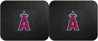 Fanmats FANMATS Los Angeles Angels of Anaheim 2-Piece Backseat Utility Mat Set