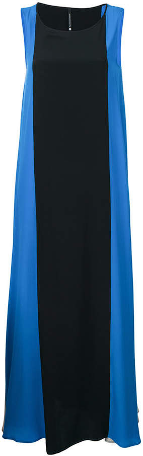 Pierantoniogaspari striped A-line dress