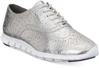 Cole Haan Zerogrand Wing Oxford Sneakers Women's Shoes $200 thestylecure.com