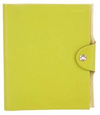Hermes Clemence Ulysses MM Agenda Cover w/ Notebook