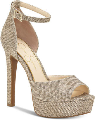 Jessica Simpson Beeya Two-Piece Platform Sandals