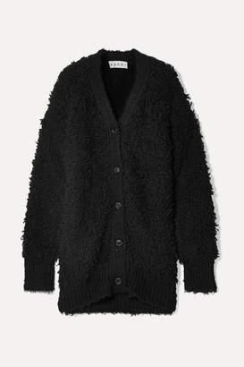 Marni Oversized Textured Wool-blend Cardigan