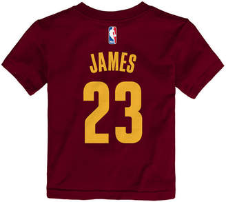 Nike Lebron James Cleveland Cavaliers Replica Name & Number T-Shirt, Toddler Boys (2T-4T)