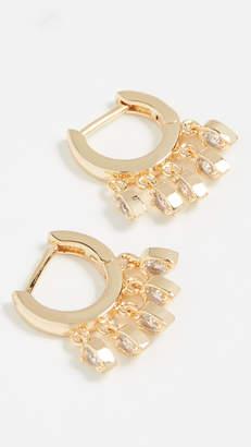 Jules Smith Designs Tear Drop Huggy Earrings