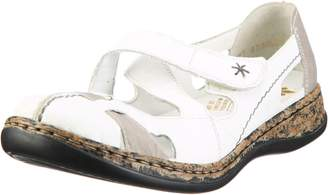 Rieker Women Loafers Daisy Daisy white, 46367-80