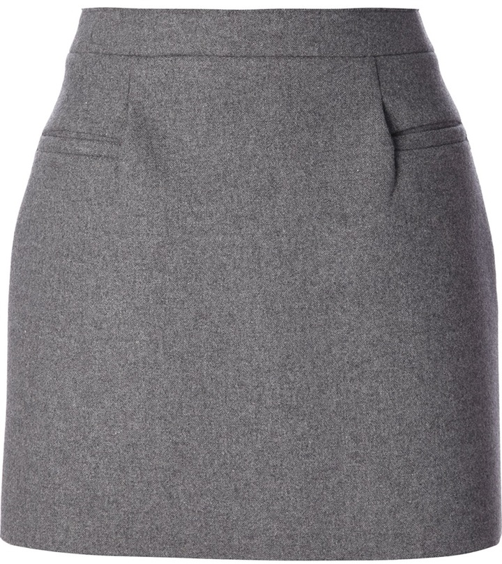 J.W.Anderson wool a-line mini skirt
