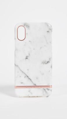 Richmond & Finch White Marble iPhone Case