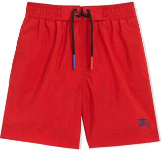 Burberry TEEN logo swim shorts