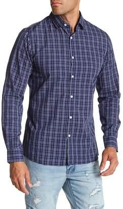 Cotton On & Co Smart Plaid Slim Fit Shirt