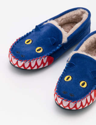 Boden Dragon Suede Slippers