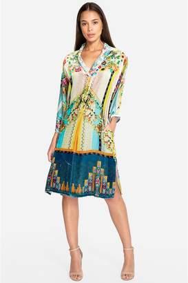 Johnny Was Angie Kimono Tunic Dress