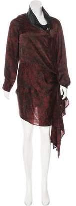 Nicholas K Asymmetrical Printed Dress