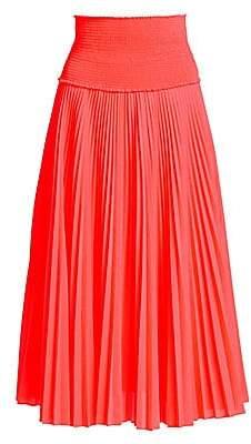 A.L.C. Women's Hedrin Pleated Midi Skirt