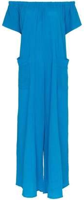 Mara Hoffman Blance off-shoulder cotton jumpsuit