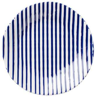 Net & Stripe Stripe Dinner Plate