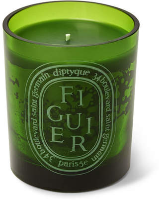 Diptyque Green Figuier Scented Candle, 300g - Green