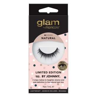 Manicare Glam By Glam 02. By Johnny Limited Edition Mink Effect Lashes 1 Pair