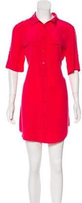 Equipment Silk Shirt Dress