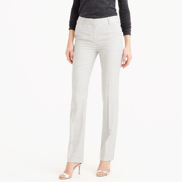 J.Crew Campbell trouser in Super 120s wool
