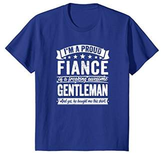 Fiance Funny Gift Awesome Gentleman Present T Shirt