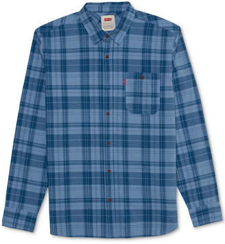Levi's Men's End on End Plaid Shirt