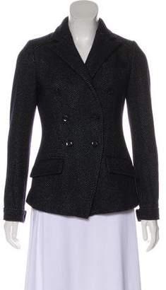 Marissa Webb Herringbone Wool-Blend Blazer