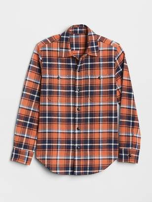 Gap Flannel Long Sleeve Shirt