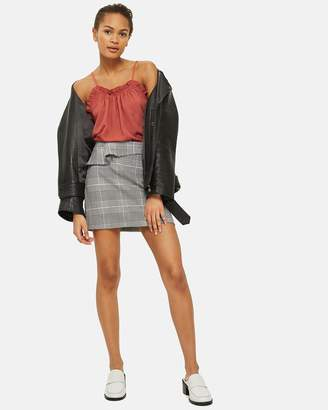 Topshop Crinkle Camisole Top