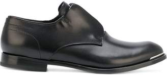 Alexander McQueen zip-detail derby shoes
