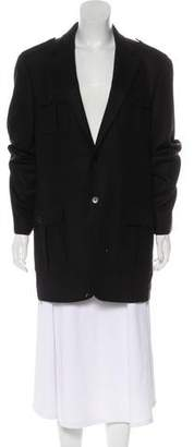 Calvin Klein Wool-Blend Knee-Length Coat