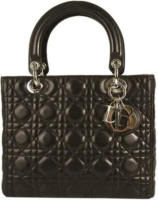 Christian Dior Lady leather bag
