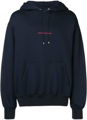 Oamc printed hoodie