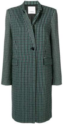 Pinko checked single breasted blazer