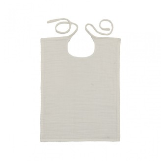 NUMERO 74 Square Natural Bib $21.60 thestylecure.com