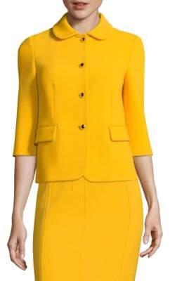 Michael Kors Wool Button-Front Jacket