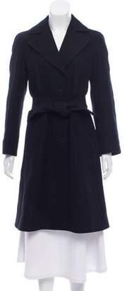 Emporio Armani Wool Knee-Length Coat