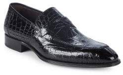 Mezlan Sierpes Crocodile Dress Shoes