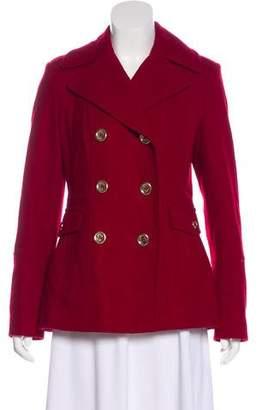 MICHAEL Michael Kors Wool Double-Breasted Short Coat