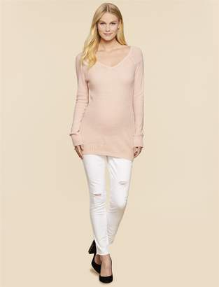 Jessica Simpson Motherhood Maternity Secret Fit Belly Ankle Maternity Jeggings